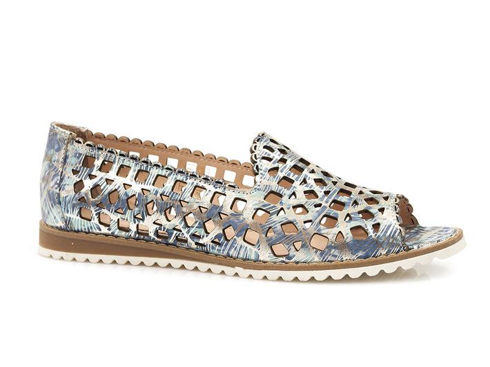 ażurowe lordsy sandały Venezia 9604