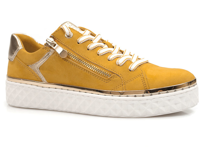 zamszowe trampki sneakersy Marco Tozzi  23706-26