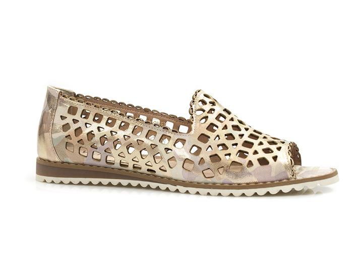 ażurowe lordsy sandały Venezia 96048418