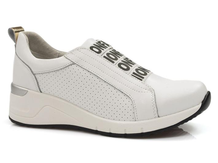 sneakersy skórzane Filippo DP2053