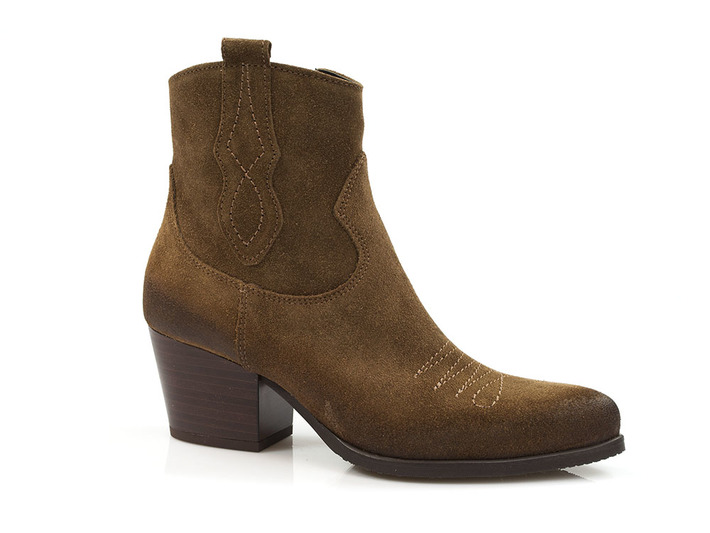 kowbojki botki damskie Gamis 3817