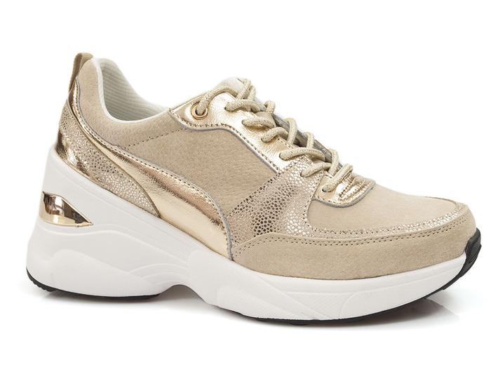 sneakersy skórzane Filippo DP2056/21