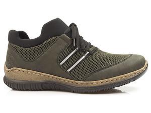 Buty damskie półbuty Rieker N32X6-55 sneakersy z wkładką MemoSoft