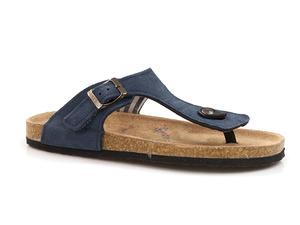 Buty damskie japonki profilowane klapki Soline