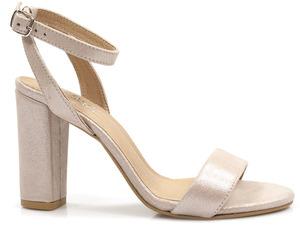 Buty damskie sandały na obcasie Eksbut 3B-5918
