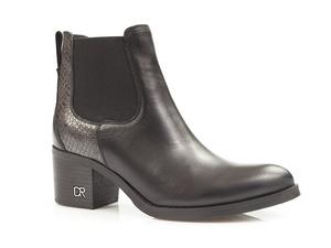 Buty damskie wsuwane botki Carinii B5191