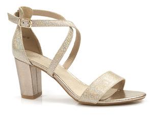 Buty damskie sandały na słupku Filippo DS1276/21