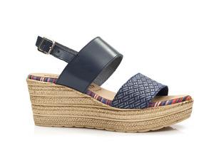 Buty damskie sandały na koturnie EL PIMPI  75712