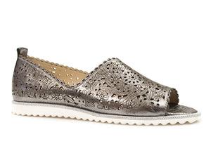 Buty damskie ażurowe lordsy sandały Venezia 054074