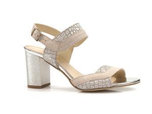 Buty damskie sandały na słupku Gamis 3942