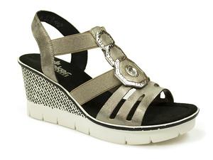 Buty damskie sandały Rieker 68550