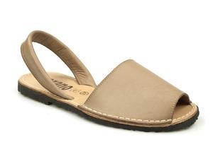 Buty damskie sandały na płaskim lordsy Verano 201