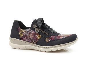Buty damskie półbuty damskie sznurowane Rieker L3221-15
