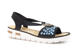 Buty damskie sandały Rieker 610D2