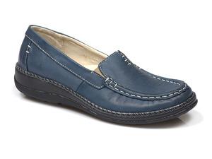 Buty damskie wsuwane półbuty Helios 665