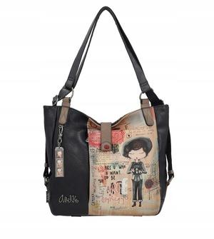 Buty damskie torebka plecak Anekke City Art