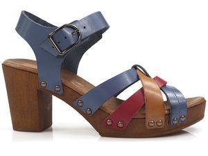 Buty damskie sandały drewniaki Lemar 40168