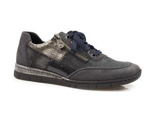 Buty damskie półbuty damskie sznurowane Rieker N5320-15