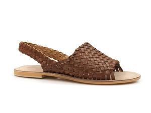 Buty damskie sandały plecione lordsy Soline MIWOK