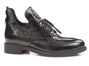 Buty damskie botki lakierowane Lemar 60260