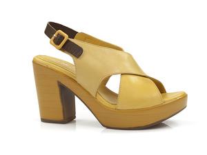 Buty damskie sandały na obcasie Venezia 8001
