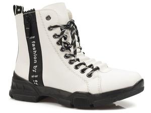 Buty damskie botki zimowe Rieker X4421-80