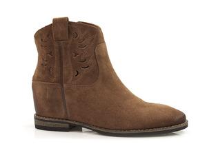 Buty damskie ażurowe botki Carinii B5263