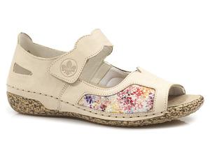 Buty damskie sandały zdrowotne Rieker V7299-60