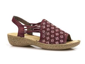 Buty damskie sandały damskie Rieker 658B2-35