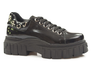 Buty damskie półbuty na platformie Venezia 00107012R