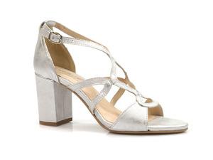 Buty damskie eleganckie sandały na obcasie Eksbut 5573