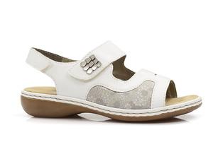 Buty damskie sandały zdrowotne Rieker 65989