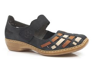 Buty damskie półbuty sandały Rieker 41369-14