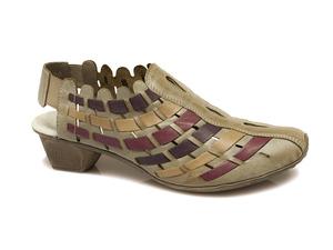 Buty damskie sandały Rieker 49781