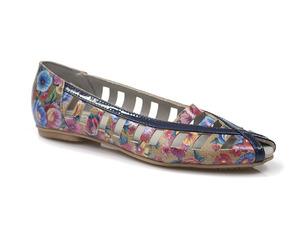 Buty damskie czółenka balerinki Dolce Pietro 0855