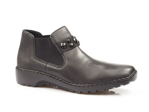 Buty damskie botki damskie wsuwane Rieker L6080-00