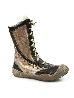 Buty damskie kozaczki dziewczęce Falcon 1500