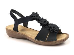 Buty damskie sandały Rieker 608S5