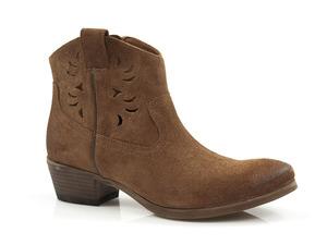 Buty damskie ażurowe botki Carinii B5262