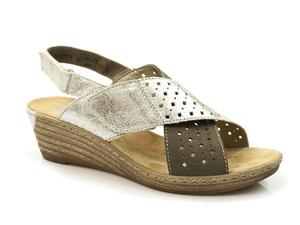 Buty damskie sandały Rieker 62445