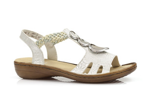 Buty damskie sandały Rieker 608T8-81