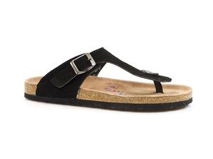 Buty damskie japonki profilowane klapki Saline