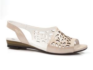 Buty damskie ażurowe sandały Venezia 211135