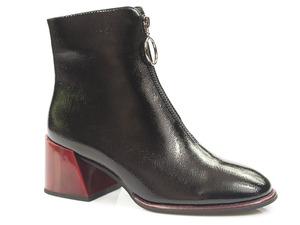 Buty damskie lakierowane botki Filippo DBT3111