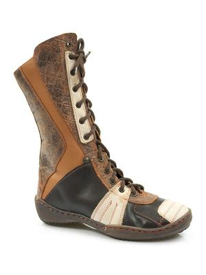 Buty damskie kozaczki dziewczęce Antylopa 445