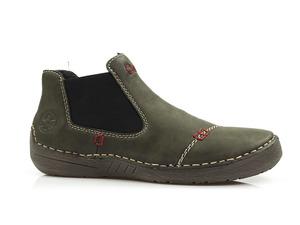 Buty damskie botki niskie ocieplone Rieker 52590-54
