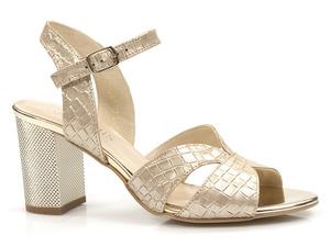 Buty damskie eleganckie sandały na obcasie Gamis 5070