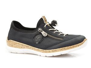 Buty damskie półbuty z wkładką memosoft Rieker N4263