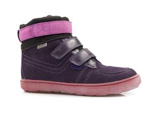 Buty damskie trzewiki dziewczęce  ocieplane Mido Noster 494