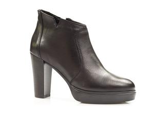 Buty damskie botki na wyższym obcasie Dolce Pietro 1084